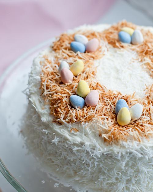 Easter Coconut Cake  Easter Coconut Cake