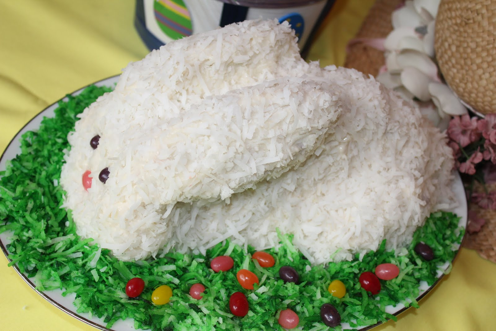 Easter Coconut Cake  Coconut Bunny Cake An Easter Tradition