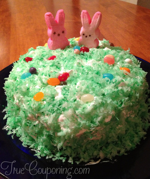 Easter Coconut Cake  Wel e to Becky s Life Meandering Down the Long