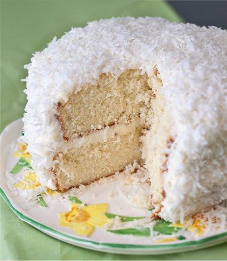 Easter Coconut Cake  Coconut Cake Tide & Thyme