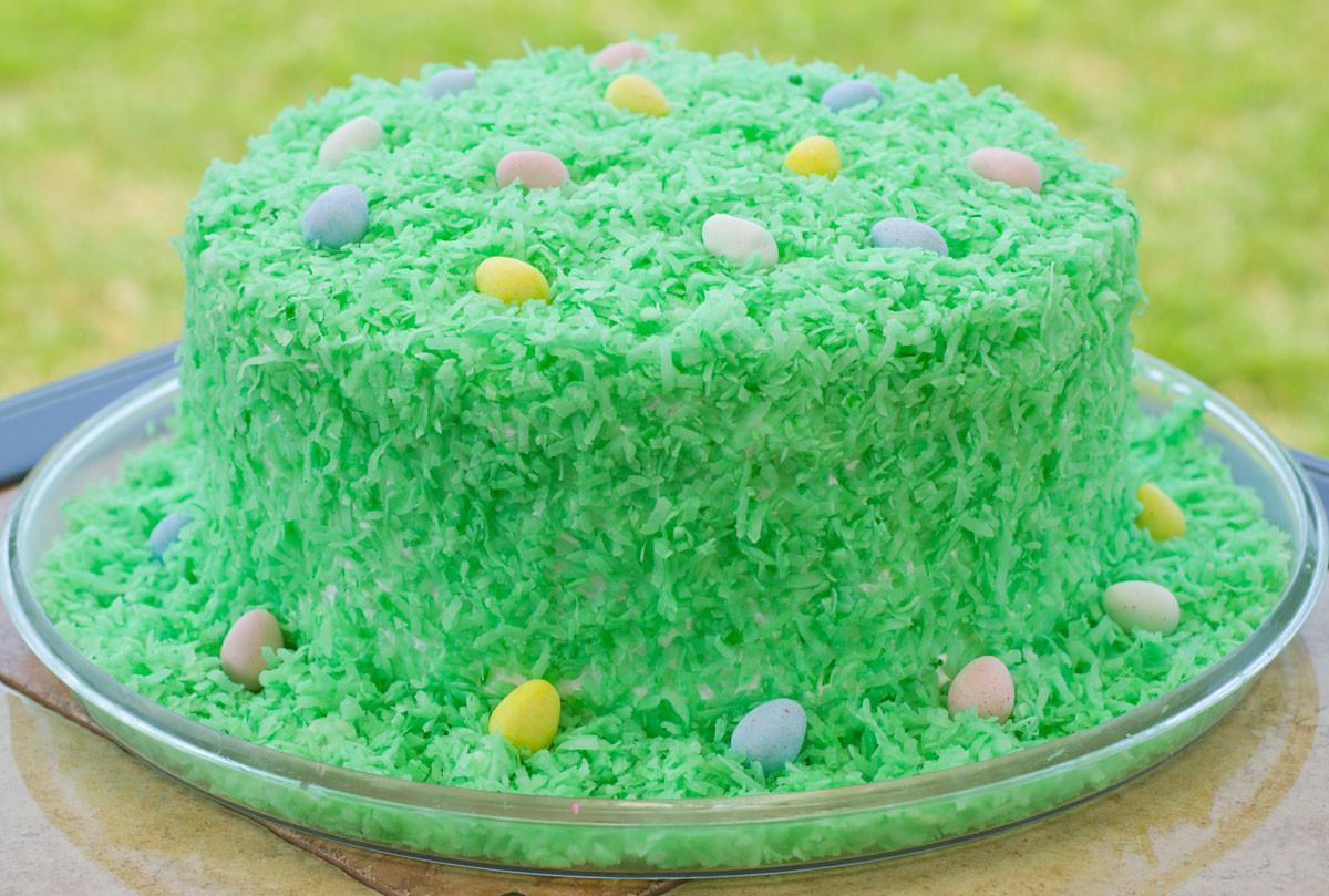 Easter Coconut Cake  Sugar & Spice by Celeste Coconut Cake Saveur Mag