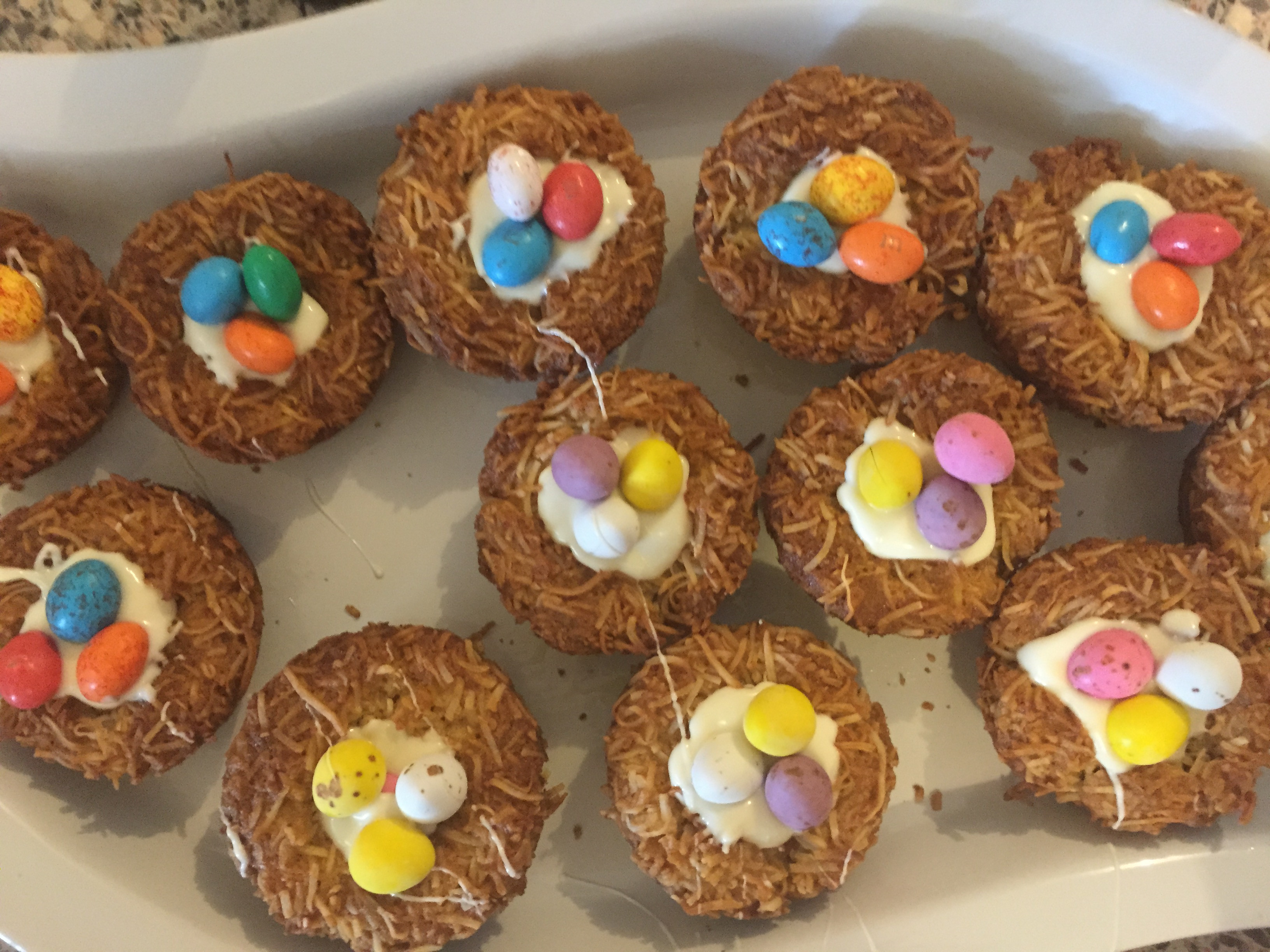 Easter Cookies Recipe  Easter Birds Nest Cookies Recipe Mum s Lounge