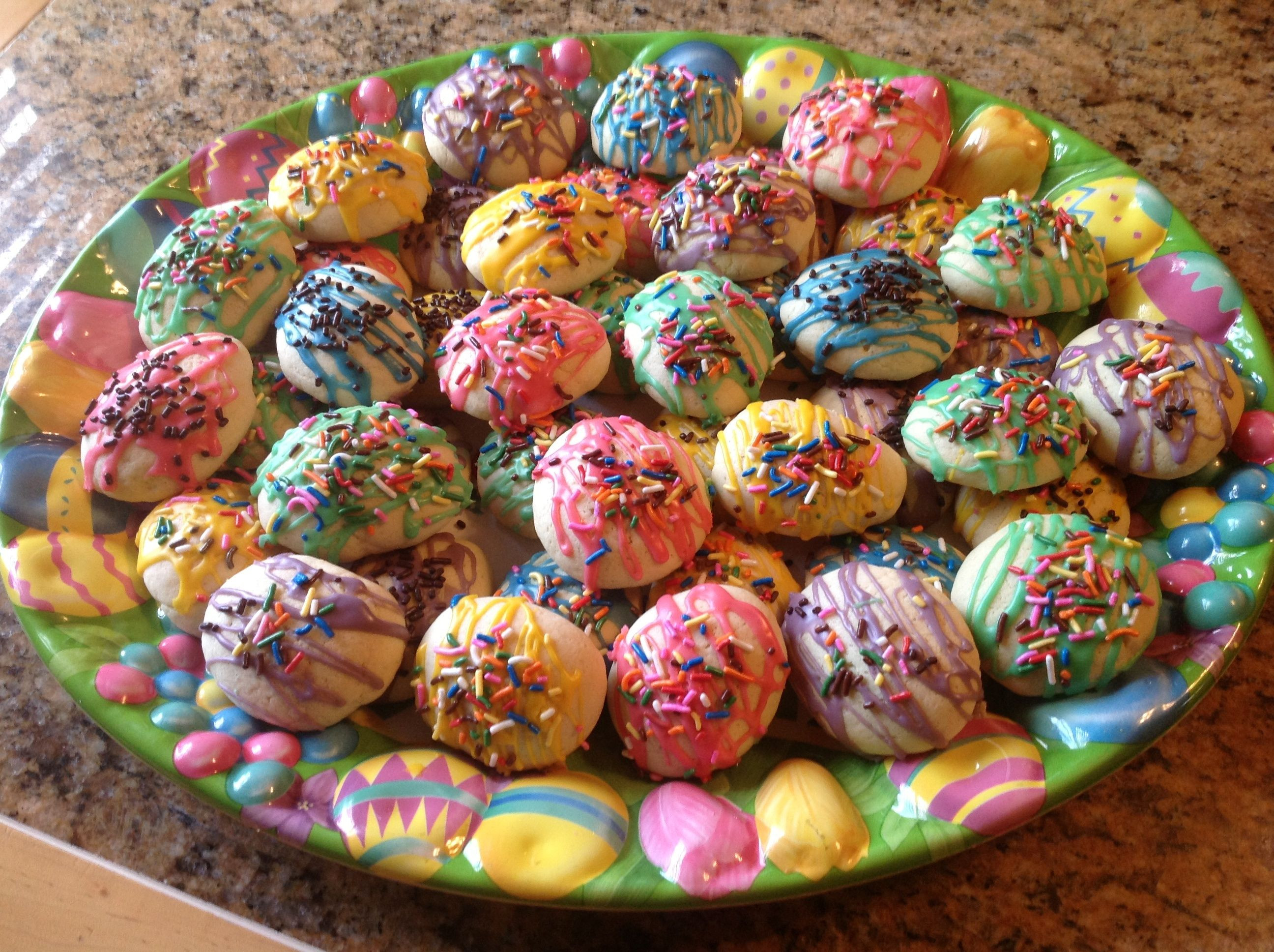 Easter Cookies Recipe  Italian Easter Egg Cookies