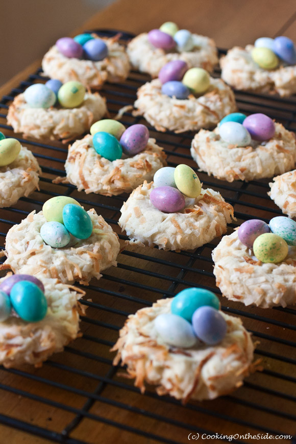 Easter Cookies Recipe  Recipe Easter Bird s Nest Cookies