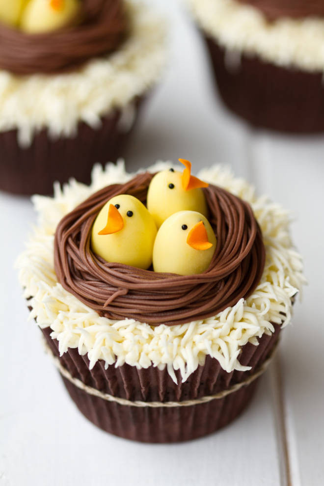 Easter Cupcakes Images  Delightful Easter Cupcakes
