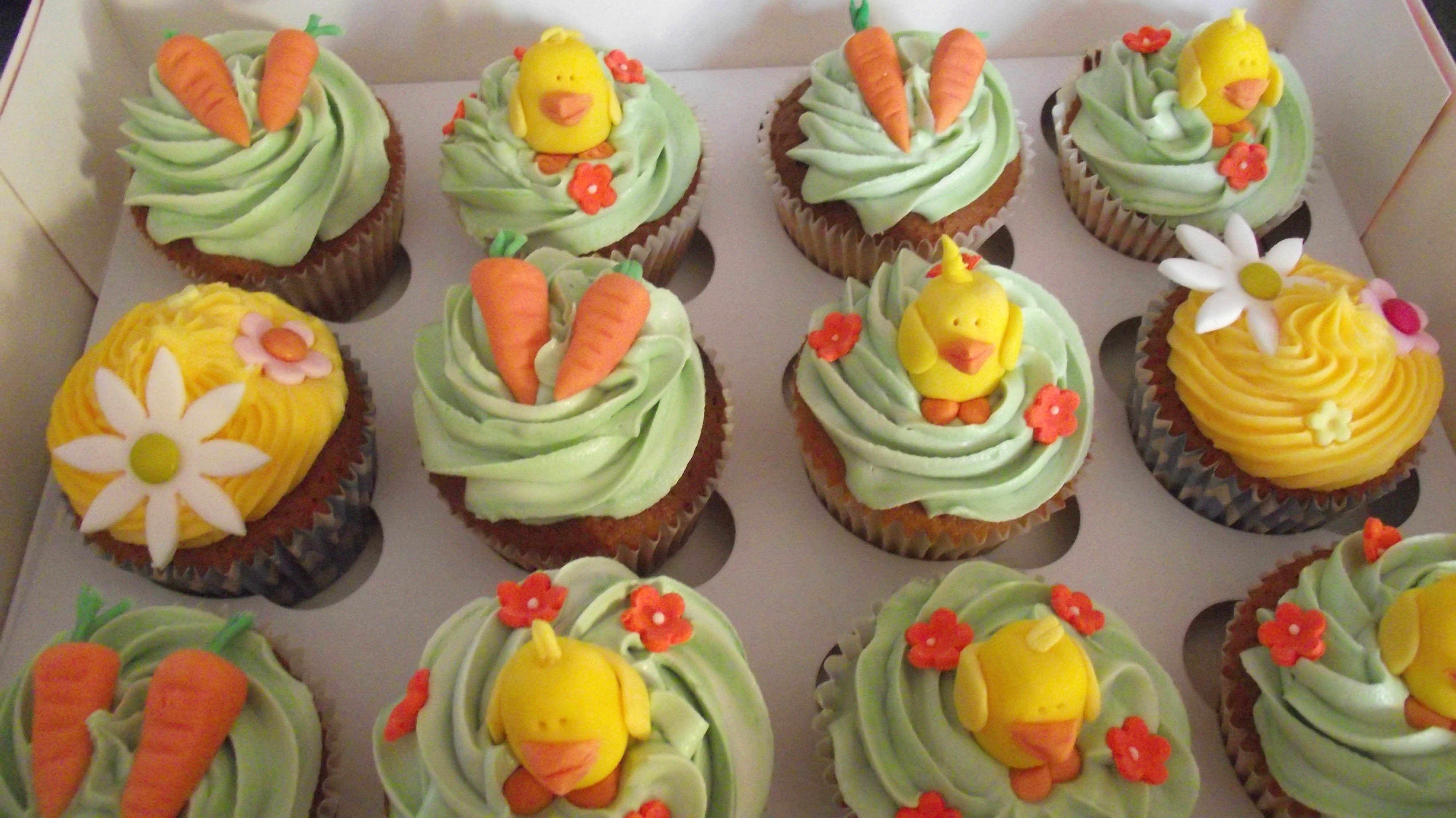 Easter Cupcakes Images  Recipes for Cupcakes from Cupcake Wars from Sratch for