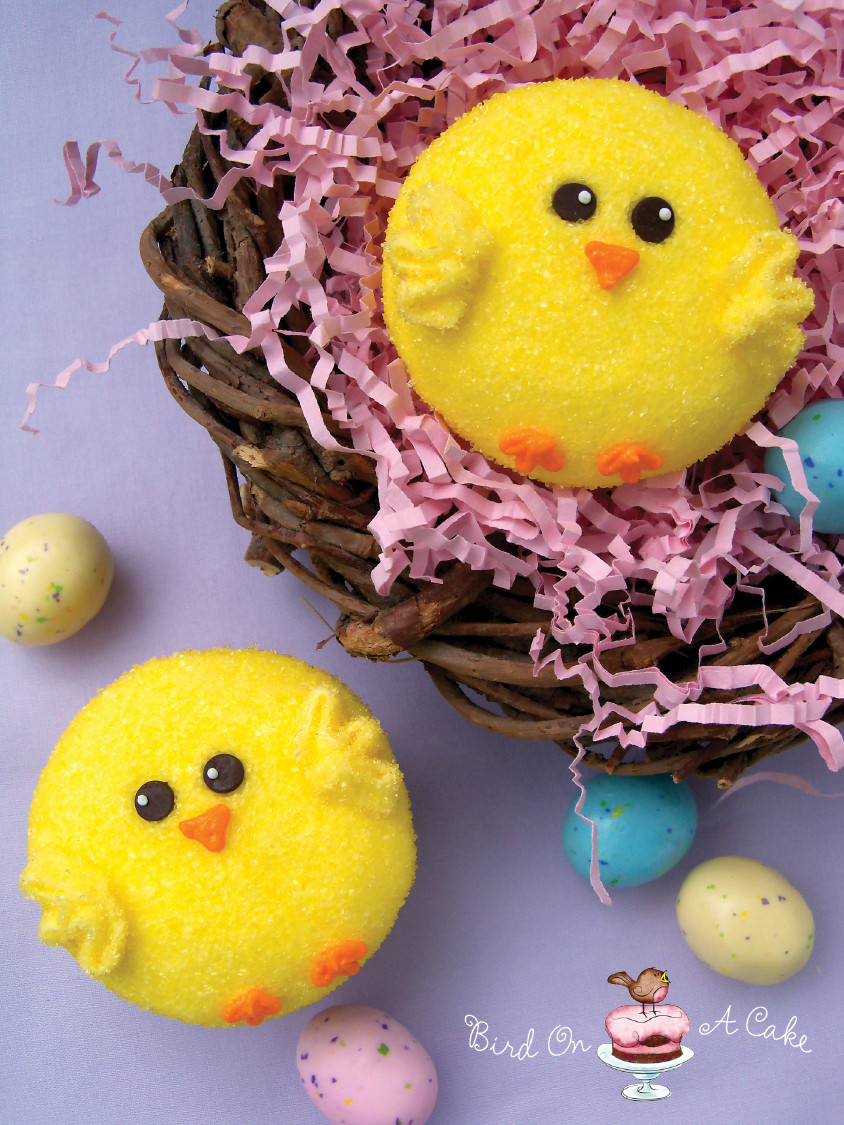 Easter Cupcakes Images  Bird A Cake Easter Chick Cupcakes