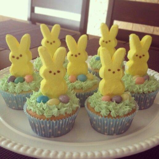 Easter Cupcakes Pinterest  Peeps Easter Cupcakes Easter Pinterest