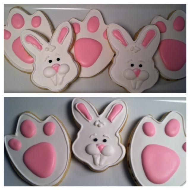 Easter Cut Out Cookies  260 best Easter Cut Outs images on Pinterest