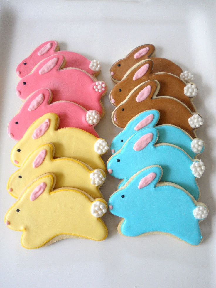 Easter Cut Out Cookies  96 best images about Cut Out Cookies Easter on Pinterest