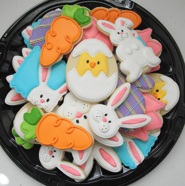 Easter Cut Out Cookies  Simple Easter cookies