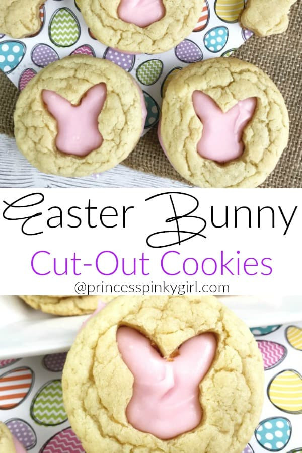 Easter Cut Out Cookies  Easter Bunny Cut Out Cookies An Easy Easter Dessert Recipe
