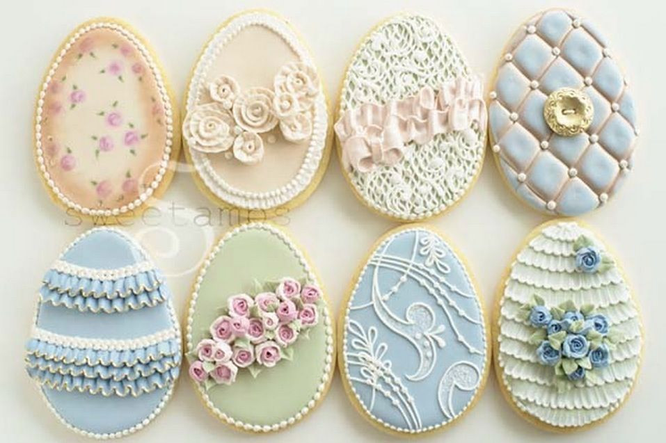 Easter Cut Out Cookies  Beautiful Easter cut outs