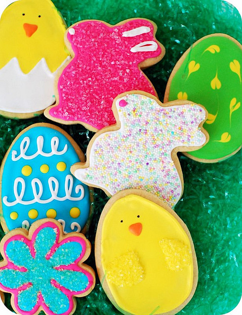 Easter Cut Out Cookies  Easter cut out Cookies