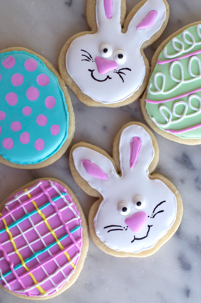 Easter Cut Out Cookies  Perfect Cut out Cookies Peridot Skies