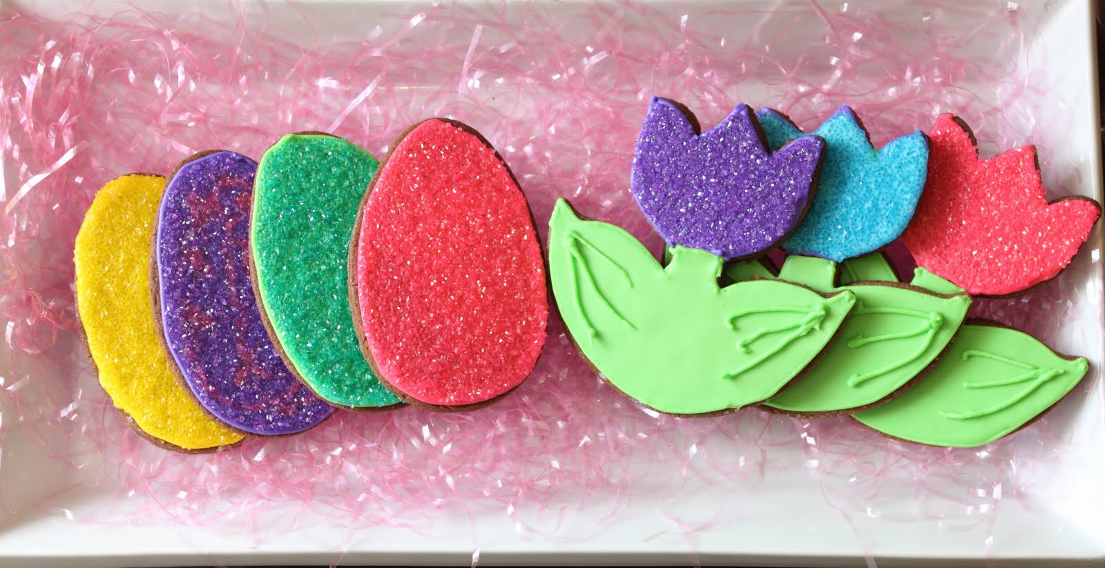 Easter Cut Out Cookies  Chocolate Brownie Easter Cutout Cookies