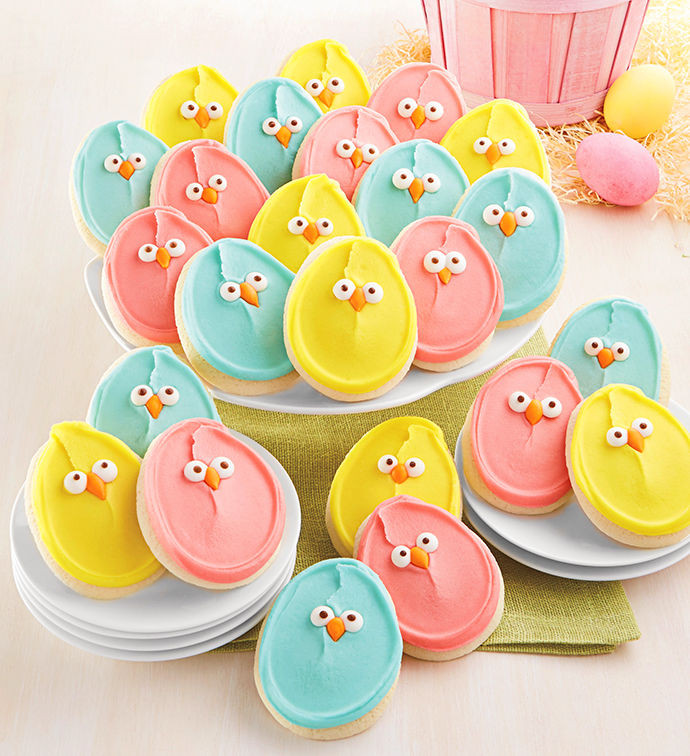 Easter Cut Out Cookies  Buttercream Frosted Easter Cut out Cookies