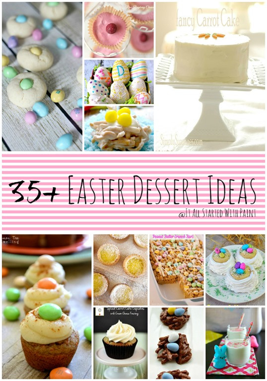 Easter Dessert Ideas  Easter Dessert Ideas & Recipes It All Started With Paint