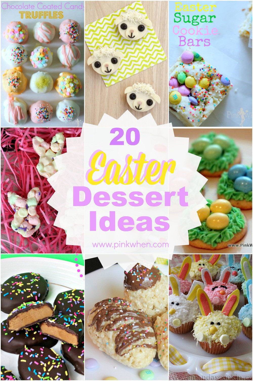 Easter Dessert Ideas  20 Delicious Easter Dessert Ideas PinkWhen