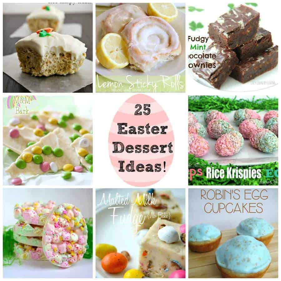 Easter Dessert Ideas  25 Easter Dessert Ideas Round Up The Best Blog Recipes