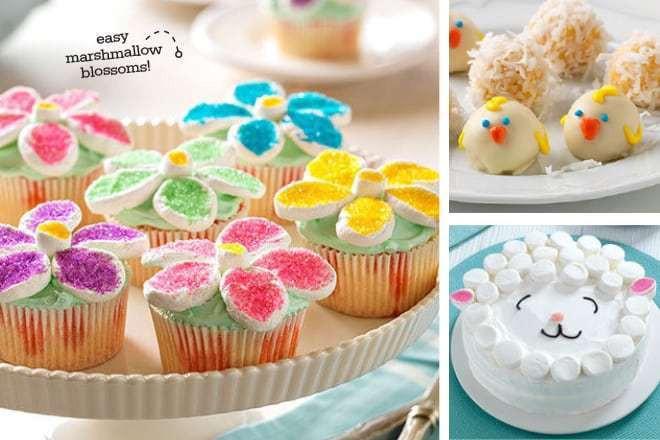 Easter Dessert Ideas  Cute & Colorful Easter Dessert Ideas