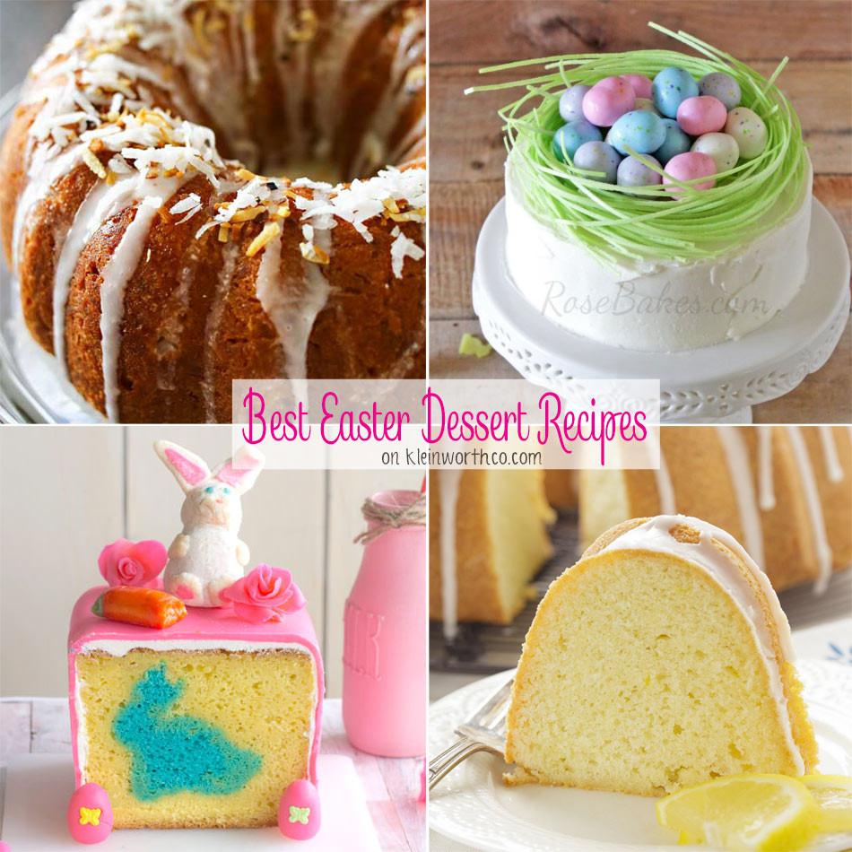 Easter Dessert Recipes  Best Easter Dessert Recipes Kleinworth & Co