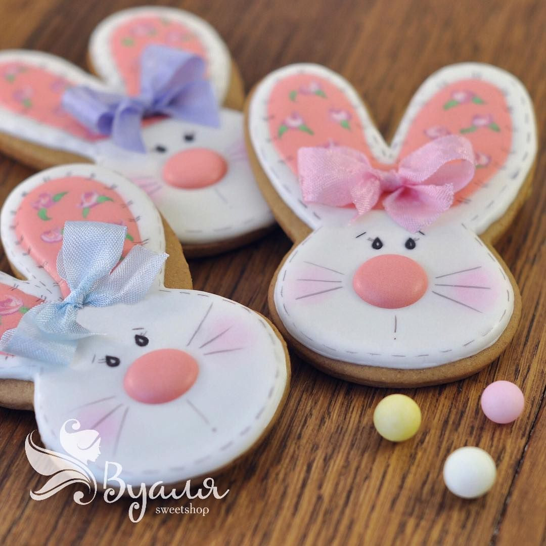 Easter Desserts 2019  Easter bunny cookies Spring Easter in 2019