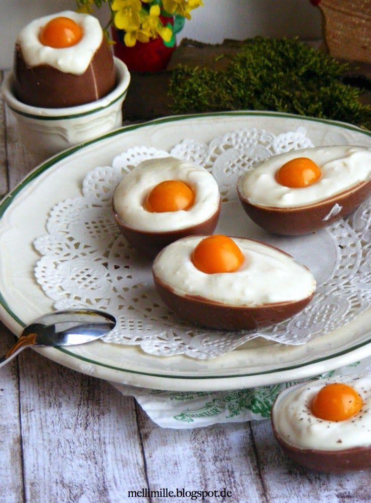 Easter Desserts 2019  Süße Ostereier mit Kokoscreme