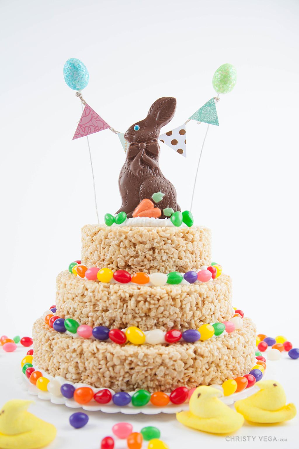 Easter Desserts 2019  Easter Rice Krispie Cake Christy Vega