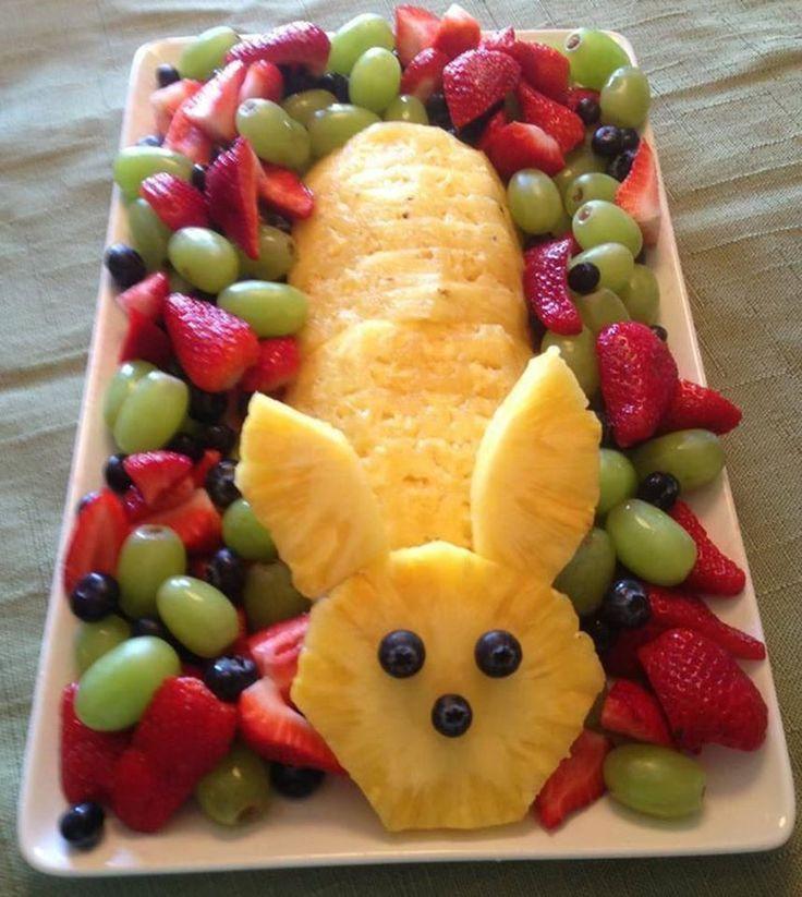 Easter Desserts 2019  Easter Pineapple Fruit Bunny