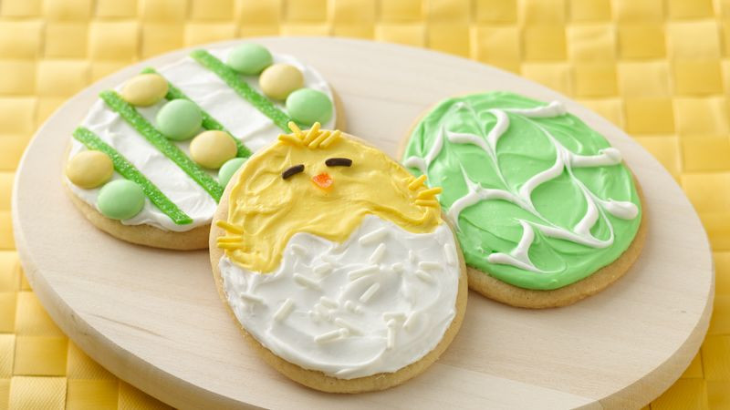 Easter Desserts 2019  Easter Egg Cookies Recipe BettyCrocker