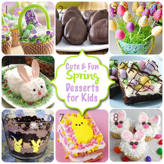 Easter Desserts For Kids  Cute Spring Dessert Ideas for Kids Dime Party Diva