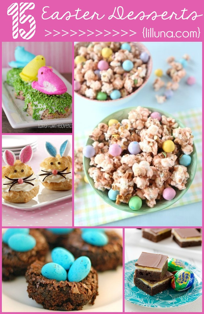 Easter Desserts Ideas  Easter Scotcharoo Cups