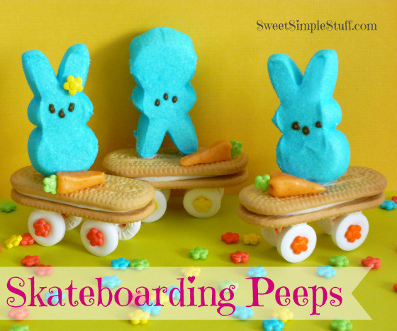 Easter Desserts With Peeps  20 Cutest DIY Easter Treats and Desserts