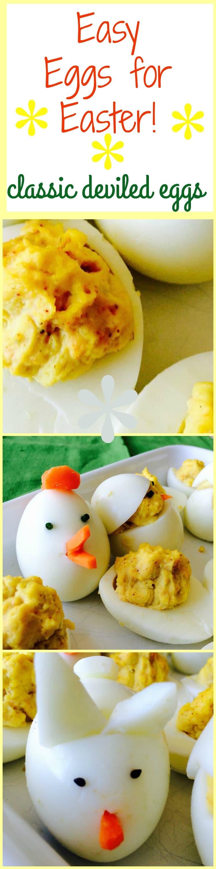 Easter Deviled Eggs  Easter Bunny Deviled Eggs West Via Midwest