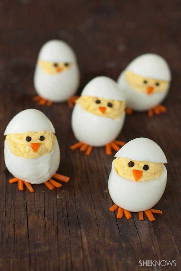 Easter Deviled Eggs  17 Best ideas about Easter Deviled Eggs on Pinterest