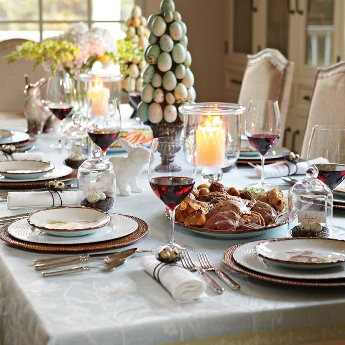 Easter Dinner At Restaurants  Create A Beautiful Easter Table