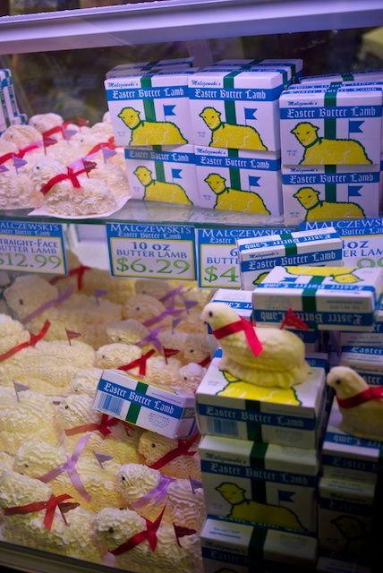 Easter Dinner Buffalo Ny  54 best images about Butter Lambs on Pinterest