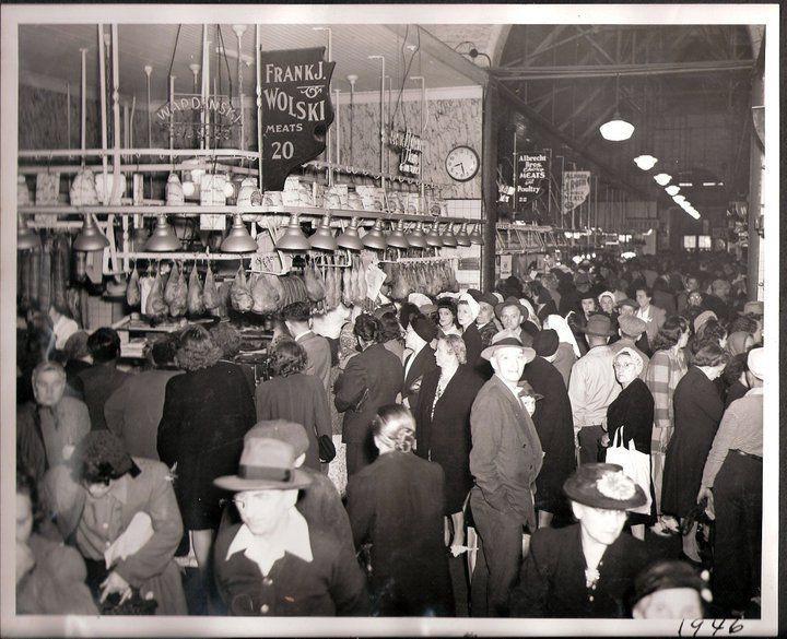 Easter Dinner Buffalo Ny  1934 Broadway Market BUFFALO NEW YORK