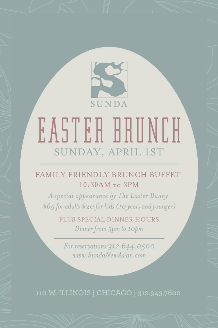 Easter Dinner Chicago  Easter Brunch Sunda Chicago