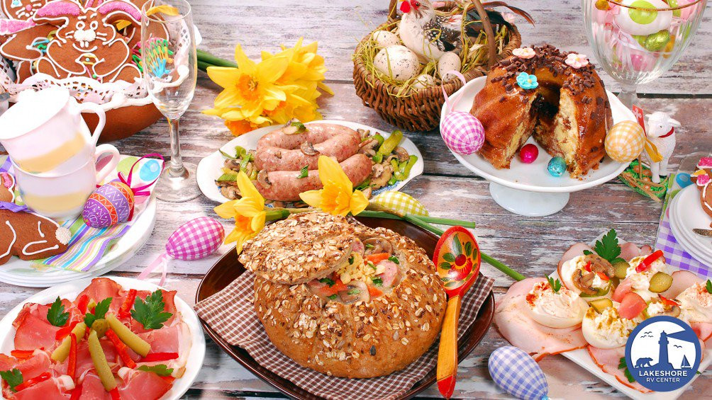 Easter Dinner Delivered  Easter Dinner Recipes For Your RV Holiday Lakeshore RV Blog