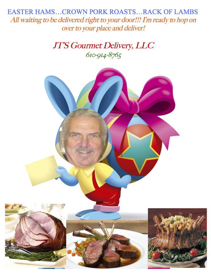 Easter Dinner Delivered  36 best JT s Gourmet Delivery LLC images on Pinterest