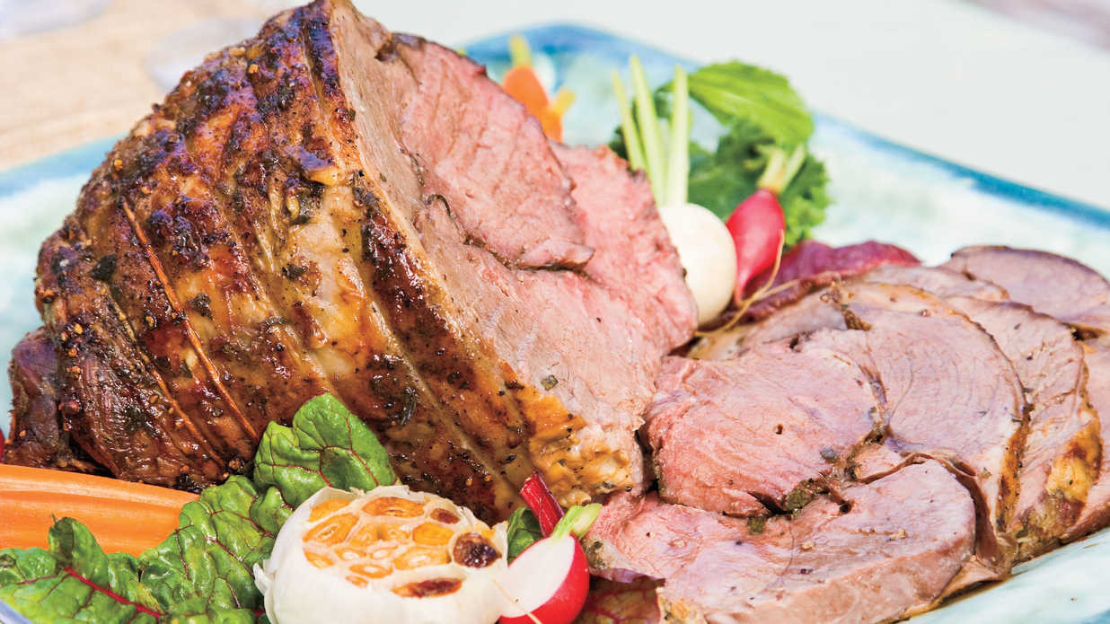 Easter Dinner Delivery  Roasted Lamb Cat Cora's Greek Easter Recipe Ideas