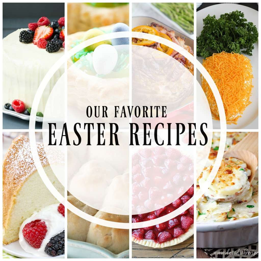 Easter Dinner Desserts  20 of the Best Easter Recipes Yummy Healthy Easy