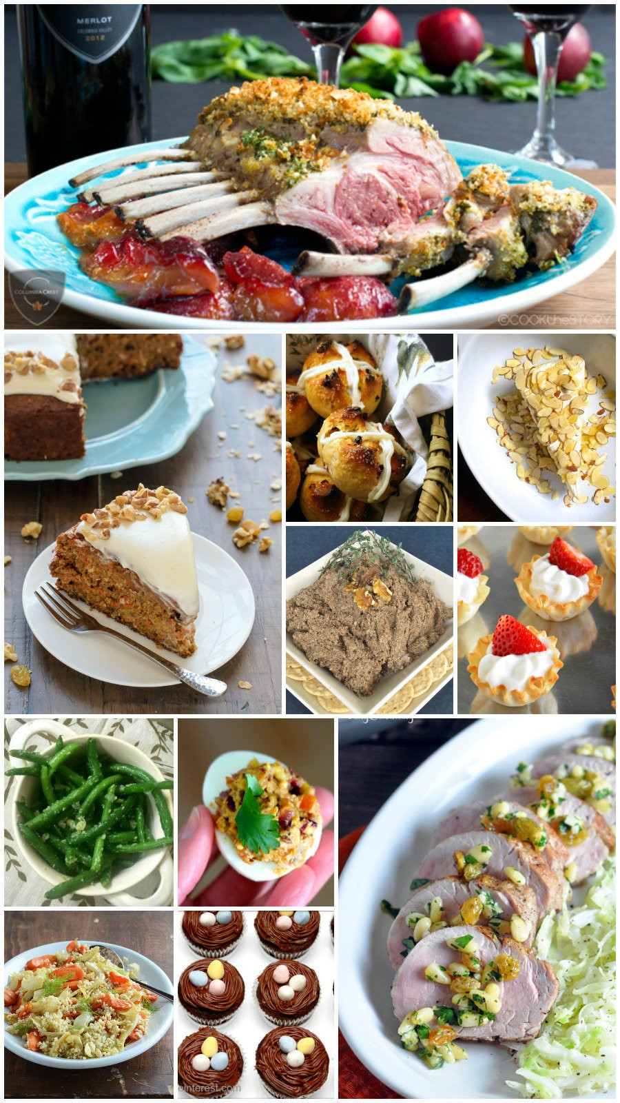 Easter Dinner Dishes  35 Easy Easter Recipes Rants From My Crazy Kitchen
