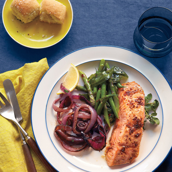 Easter Dinner For A Crowd  Salmon Shines in This Simple Easter Dinner for a Crowd