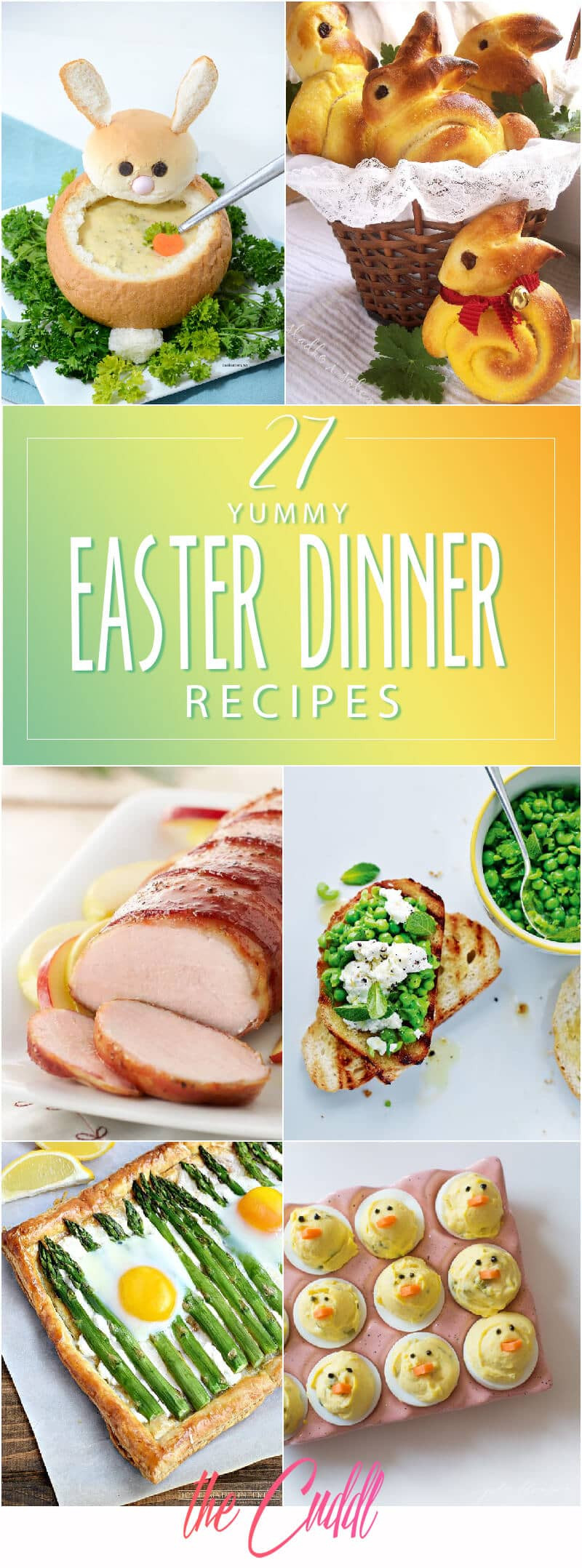 Easter Dinner For A Crowd  27 Yummy Easter Dinner Ideas to Wow Your Guests