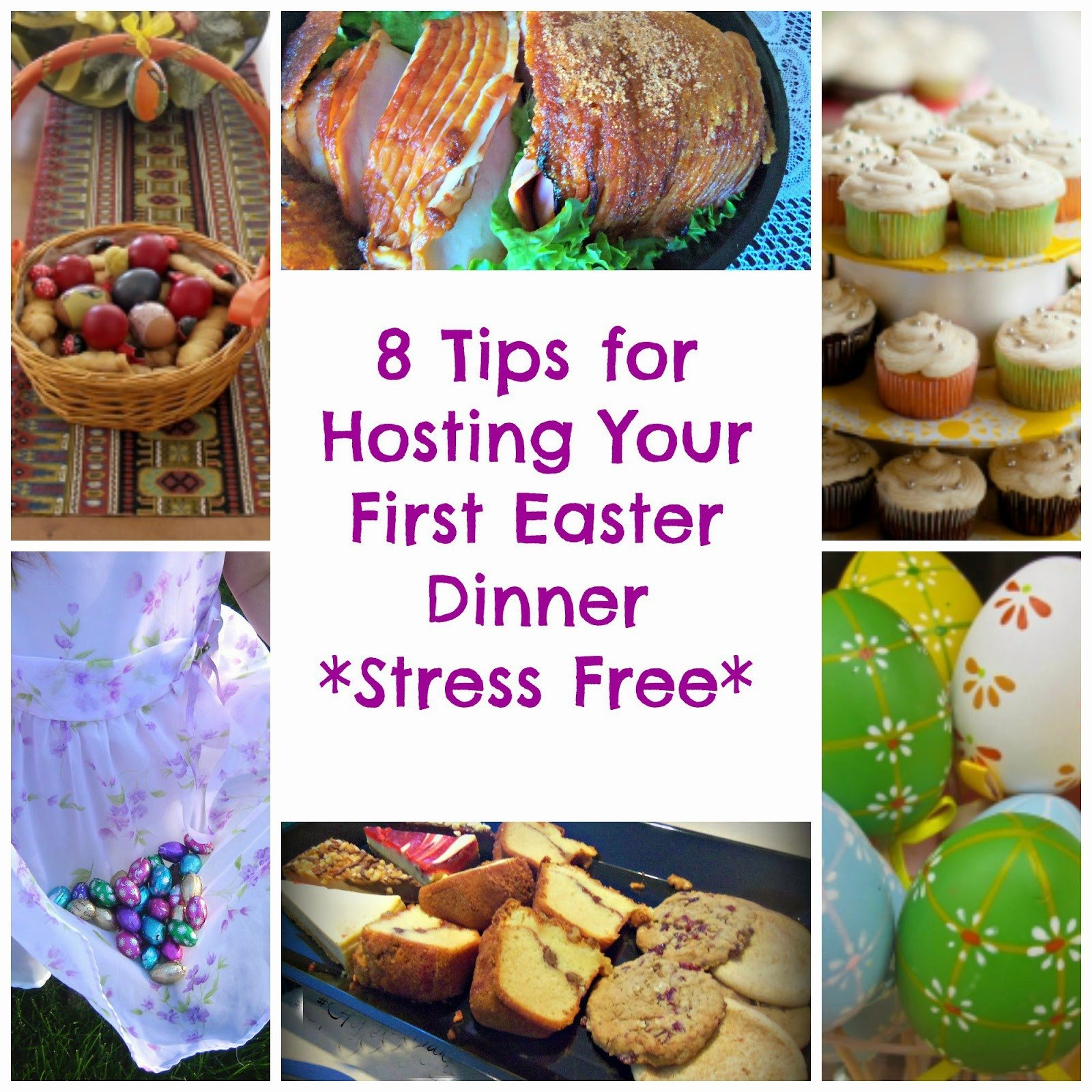 Easter Dinner For One  8 Tips for Hosting Your First Easter Dinner Stress Free