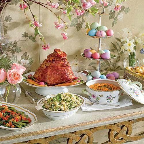 Easter Dinner For One  Easter dinner He has Risen Easter ideas