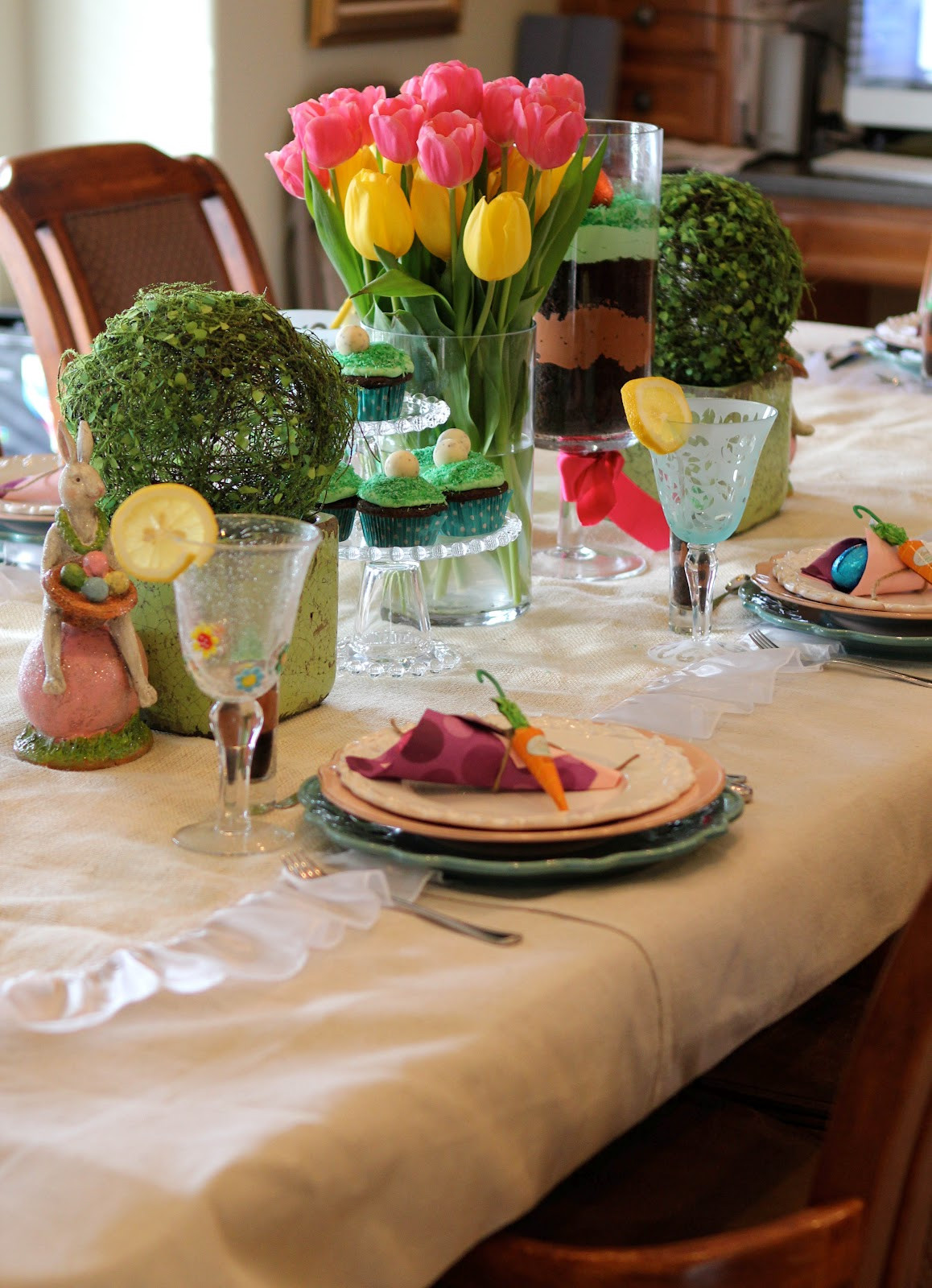 Easter Dinner For One  A Little Cuppa Tea Easter Dinner